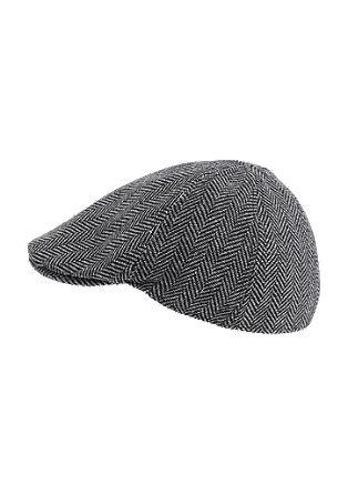 Flatcap aus Woll-Mix