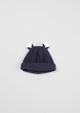 Fleece-Mütze mit Öhrchen