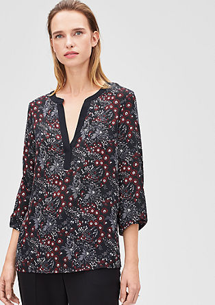 Floral chiffon tunic from s.Oliver