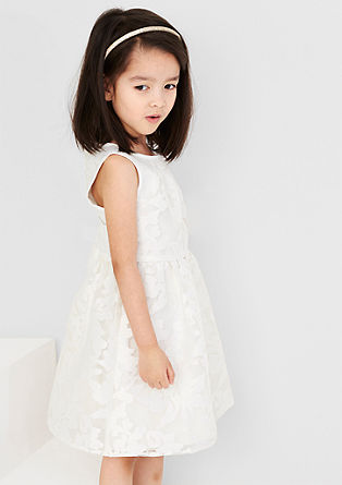 Floral dress in organza from s.Oliver