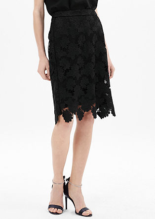 Floral lace skirt from s.Oliver