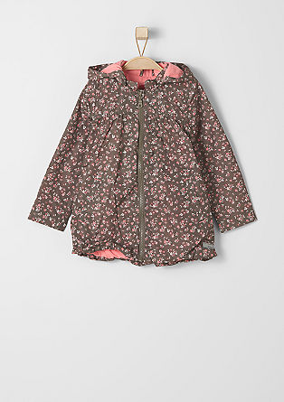 Floral nylon jacket from s.Oliver