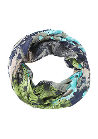 Floral printed snood from s.Oliver