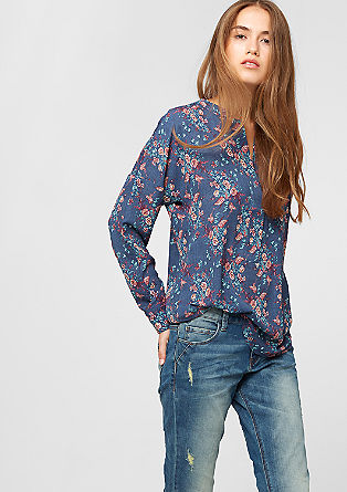 Floral tunic blouse from s.Oliver
