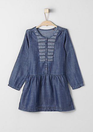 Flowing denim dress from s.Oliver