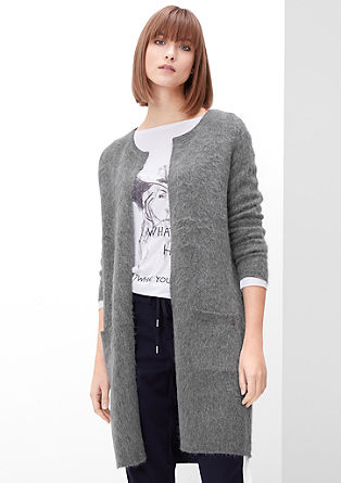 Fluffy cardigan with mohair from s.Oliver