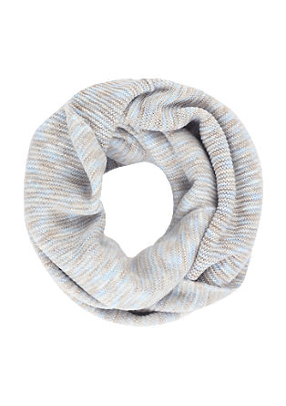 Fluffy knit snood from s.Oliver