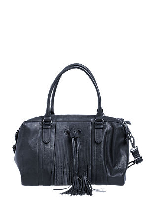 Fringed shopper with tassels from s.Oliver