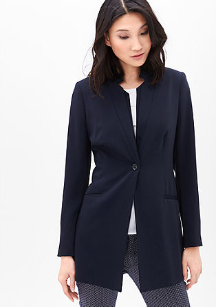 Frock coat in a silky-matte look from s.Oliver