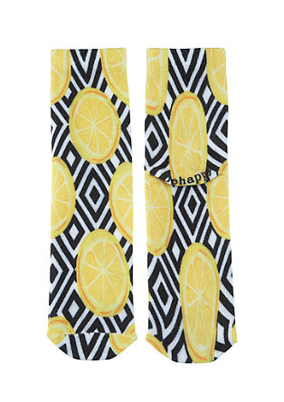 Fun Socks mit Allover-Print