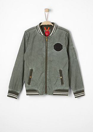 Functional bomber jacket from s.Oliver