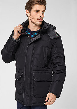 Functional quilted down jacket from s.Oliver