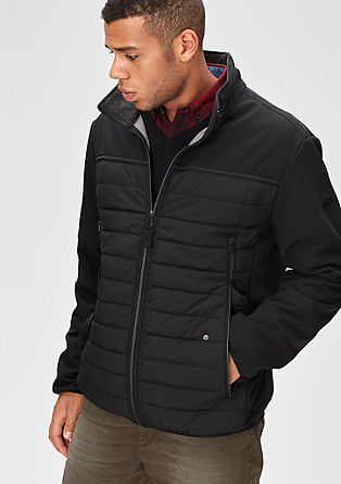 Funkcionalna jakna iz mešanice materialov
