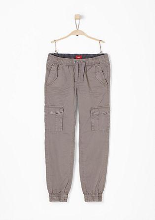 Garment Dye-Hose im Jogging-Look