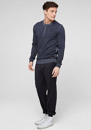Garment dye knit jumper from s.Oliver