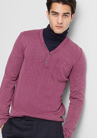 Garment dye knit jumper from s.Oliver