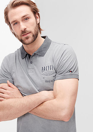 Garment Dye-Poloshirt