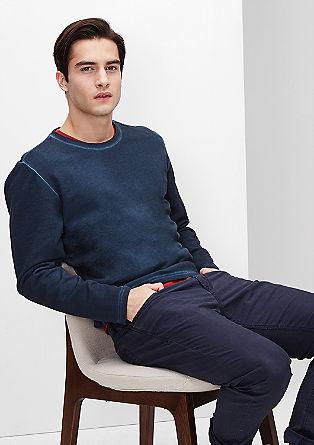 Garment Dye-Sweater