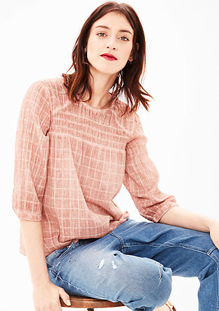 Garment-dyed cotton tunic from s.Oliver