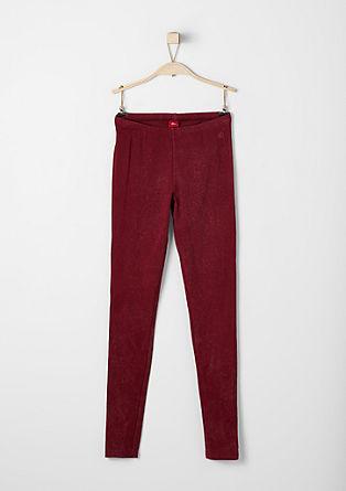 Garment-dyed leggings from s.Oliver