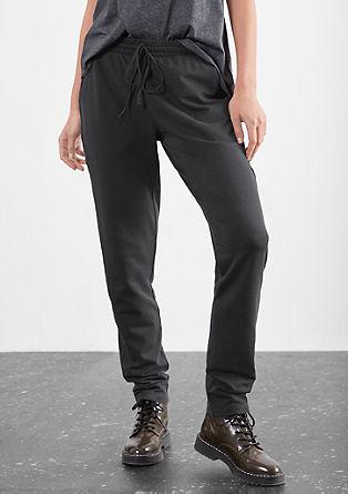 Garment-washed joggingbroek