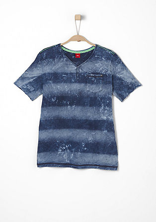 Garment-washed T-shirt from s.Oliver