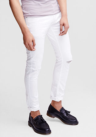 Gavin Skinny: jeans with distressed details from s.Oliver