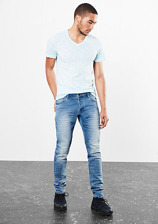 Gavin Skinny: Jeans with whiskering from s.Oliver