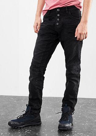 Gavin skinny: Zeer elastische jeans