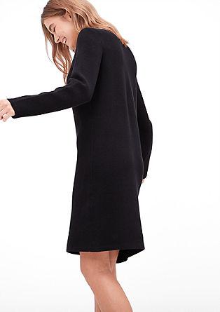 Gebreide katoenen jurk