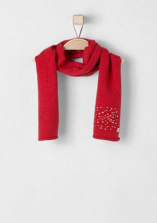 Gebreide sjaal met stras