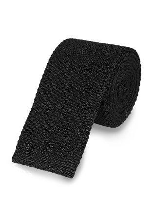 Gebreide stropdas van wol