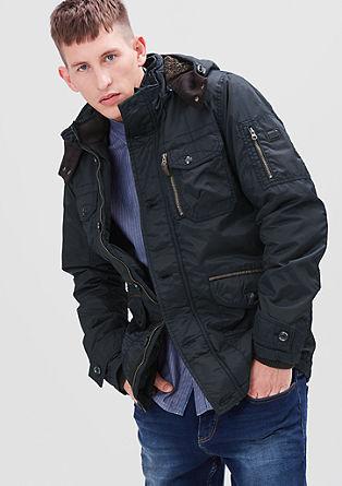 Gefütterte Outdoor-Jacke