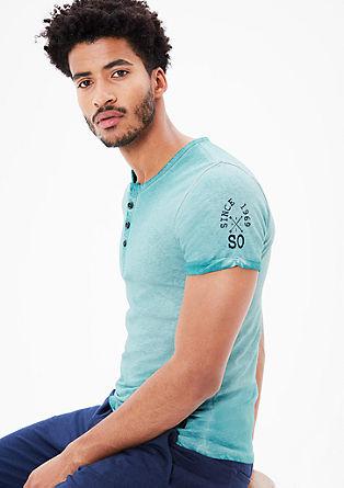 Geknöpftes Pigment Dye-Shirt