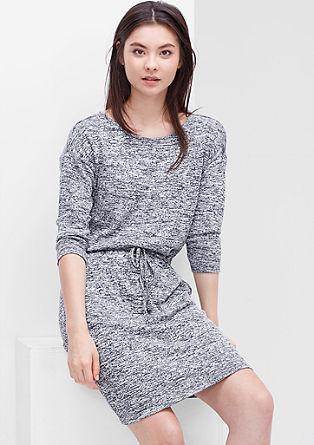 Gemêleerde gebreide jurk