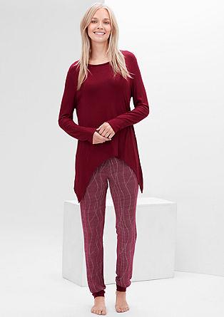 Gemütlicher Jersey-Pyjama