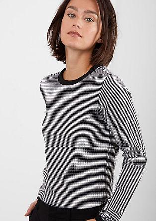 Geringeltes Rippshirt