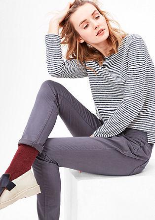 Geringeltes Sweatshirt