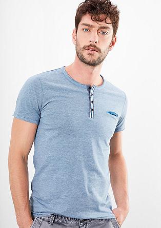 Gestreept Henley-shirt
