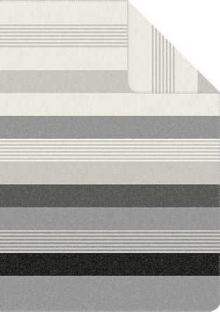Gestreifte Jacquard-Decke