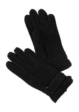 Gevoerde leren handschoenen