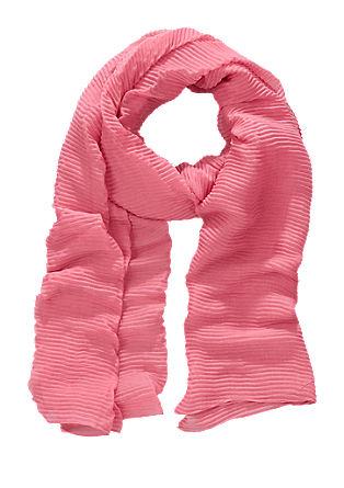 Gewebter Plissee-Schal