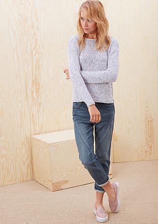 Girlfriend Ankle: Jeans hlače jogging