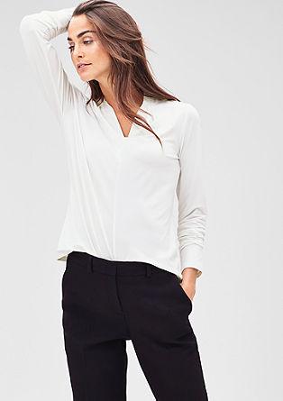 Glad shirt met stretch
