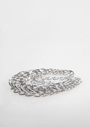 Glänzende Ringkette