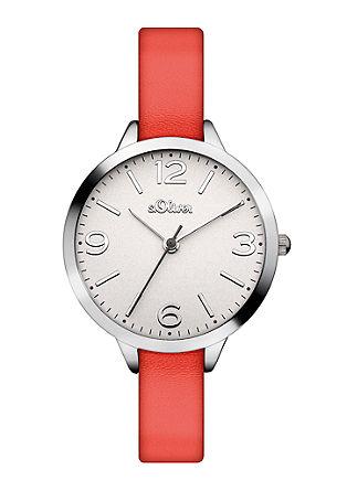 Glänzende Uhr mit Wechselbändern