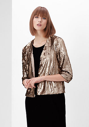 Glamorous sequin blazer from s.Oliver