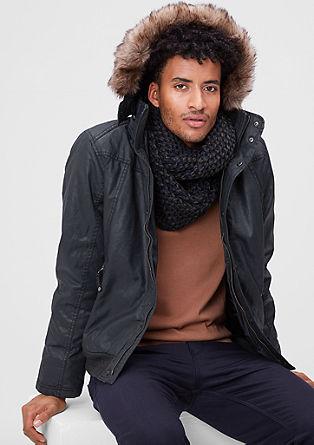 Glanzende outerwear blouson