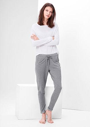 Glinsterende pyjamabroek