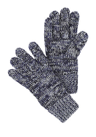 Gloves in a mottled yarn from s.Oliver